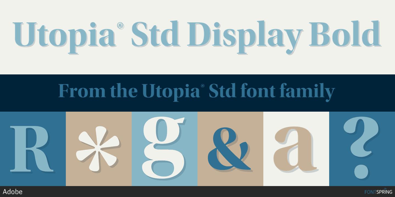 Similar Free Fonts for Utopia Regular