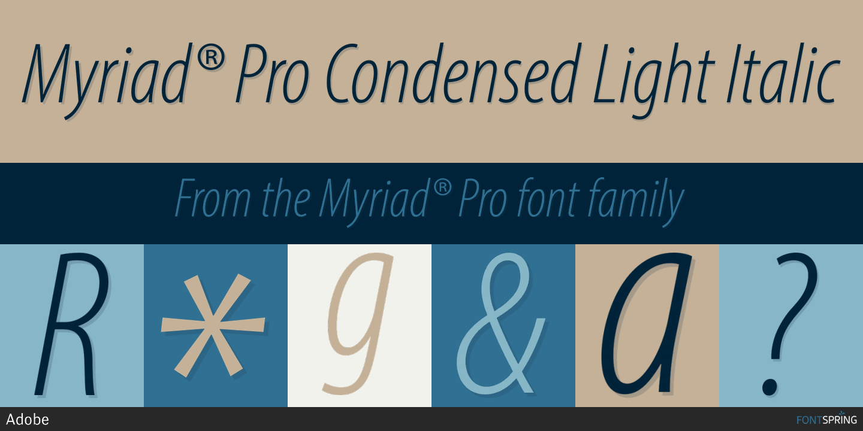 Myriad Pro Light Font - Mentale resonanz methode