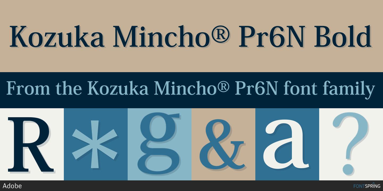 banner font