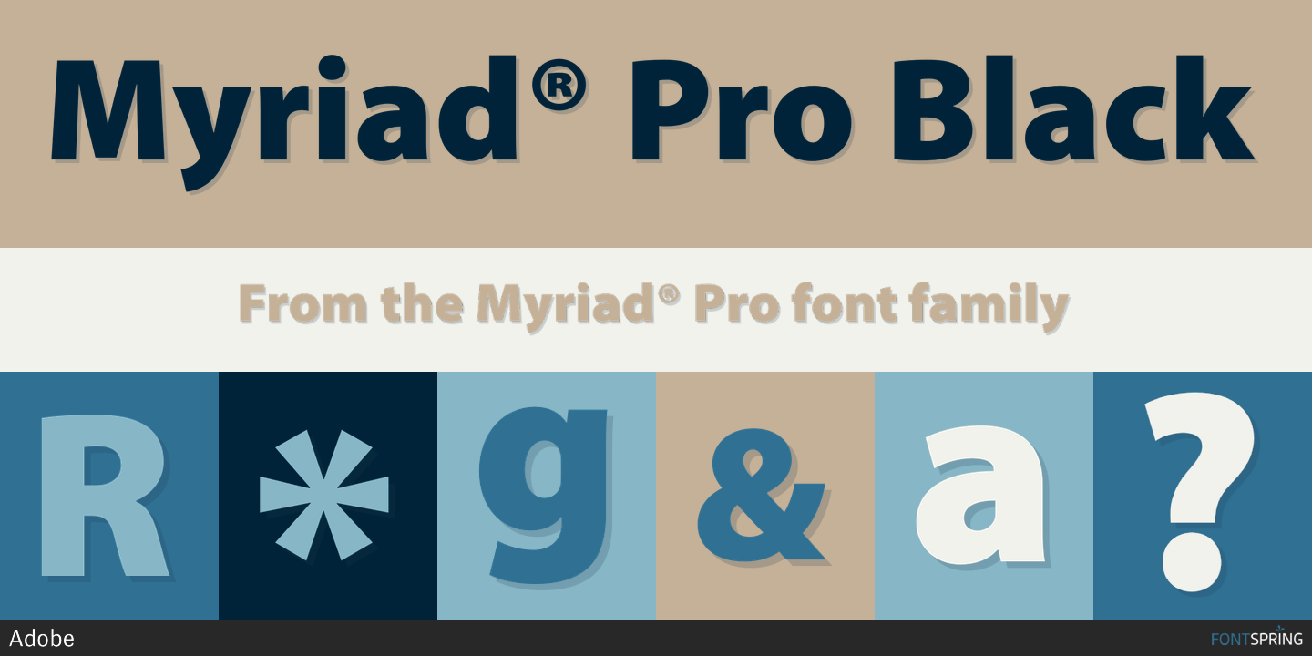 Myriad Pro Black Cond Font Download - softmates-qsoft