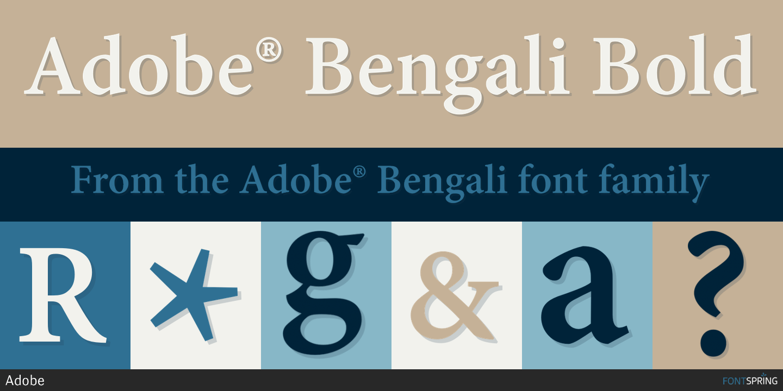 Fontspring | Adobe® Bengali Fonts by Adobe