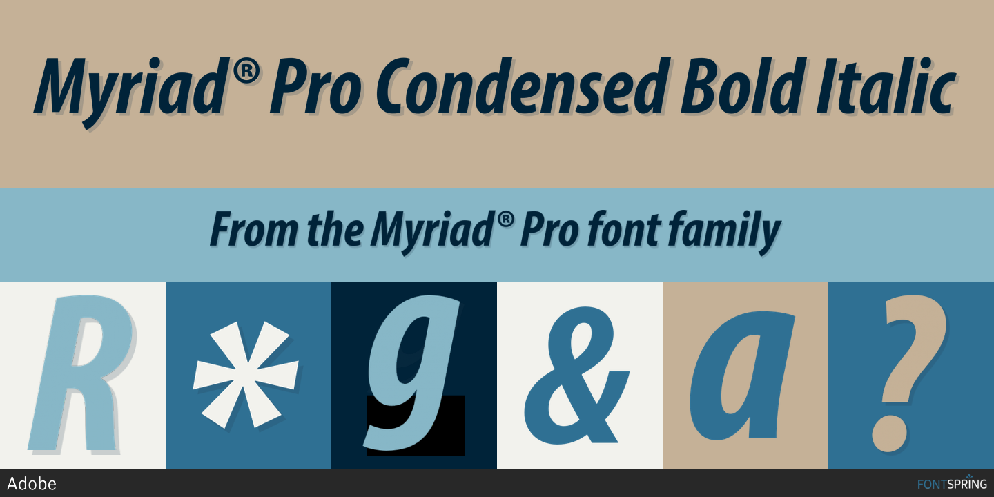 how to get myriad pro font