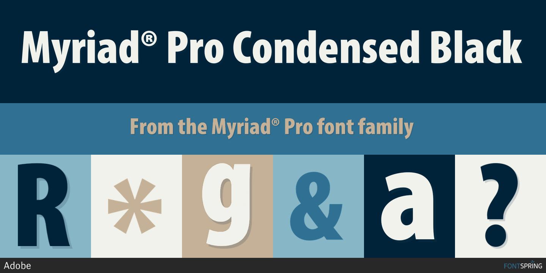 MyriadPro-Cond