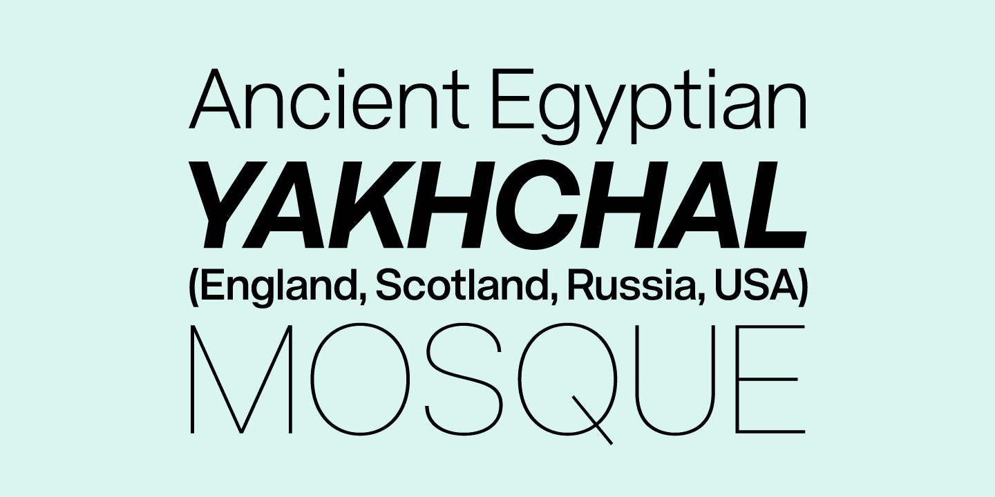 Fontspring | Acronym Fonts by AE Type Inc