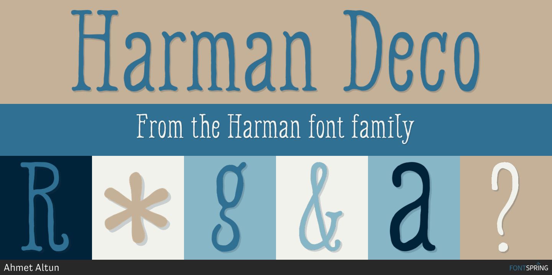 Fontspring | Similar Fonts To Harman