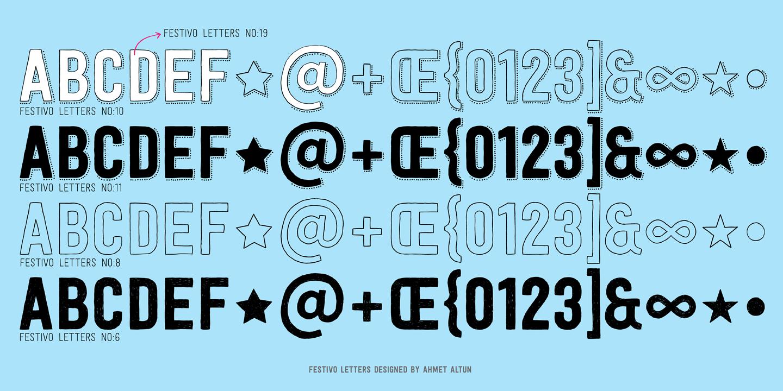 Festivo Letters Font Free