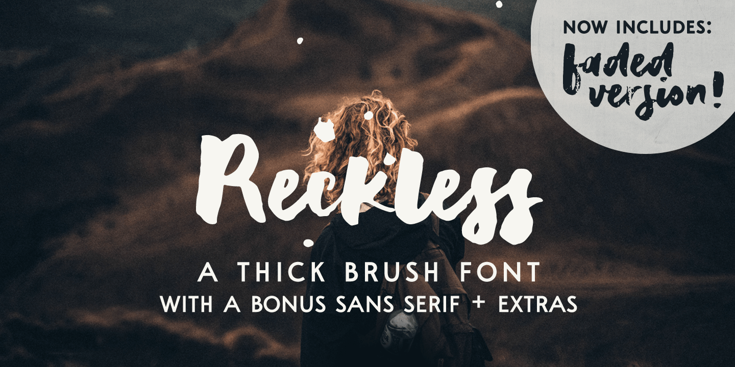 Fontspring | Reckless Fonts by Ana's Fonts