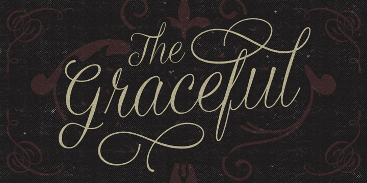 Graceful font family