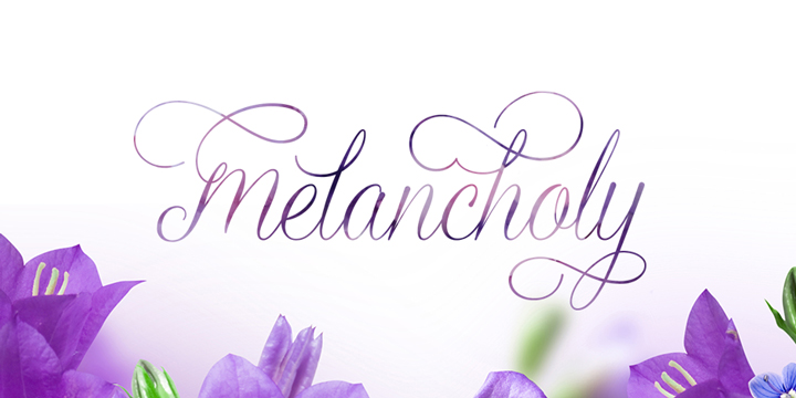 Graceful font family - 3