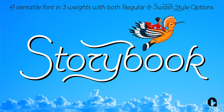 Storybook Fonts | Fontspring