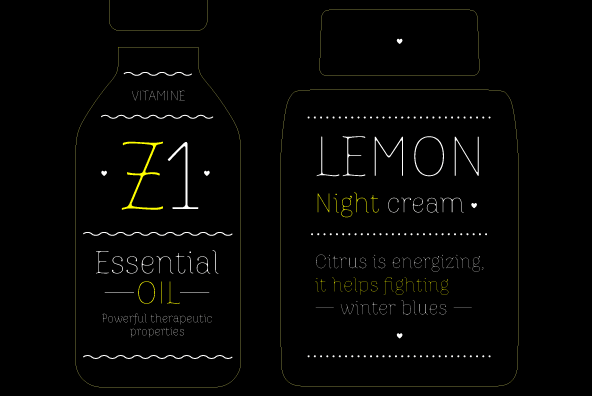 Zitrone FY font family - 1