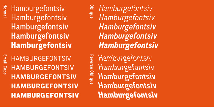 CA Normal font family - 1