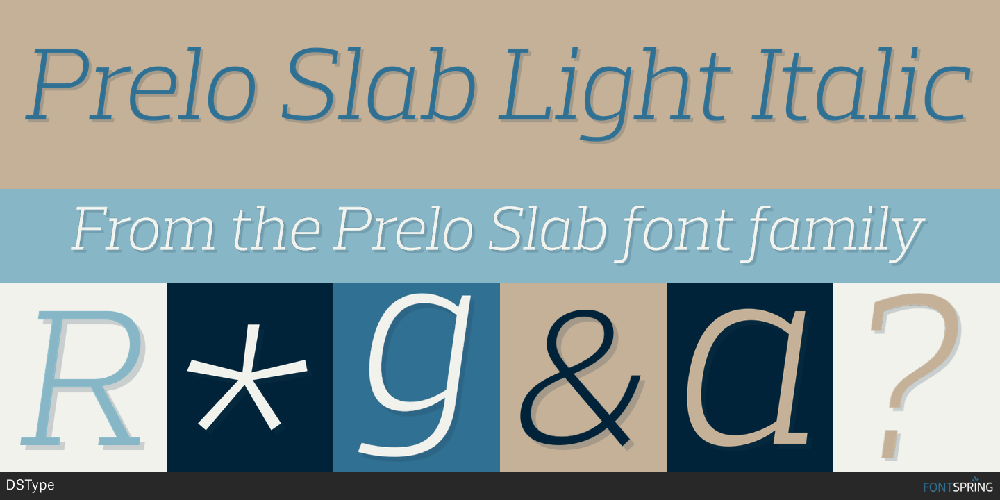 prelo slab light