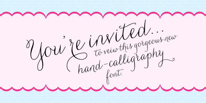 Carolyna fonts by emily lime design fontspring