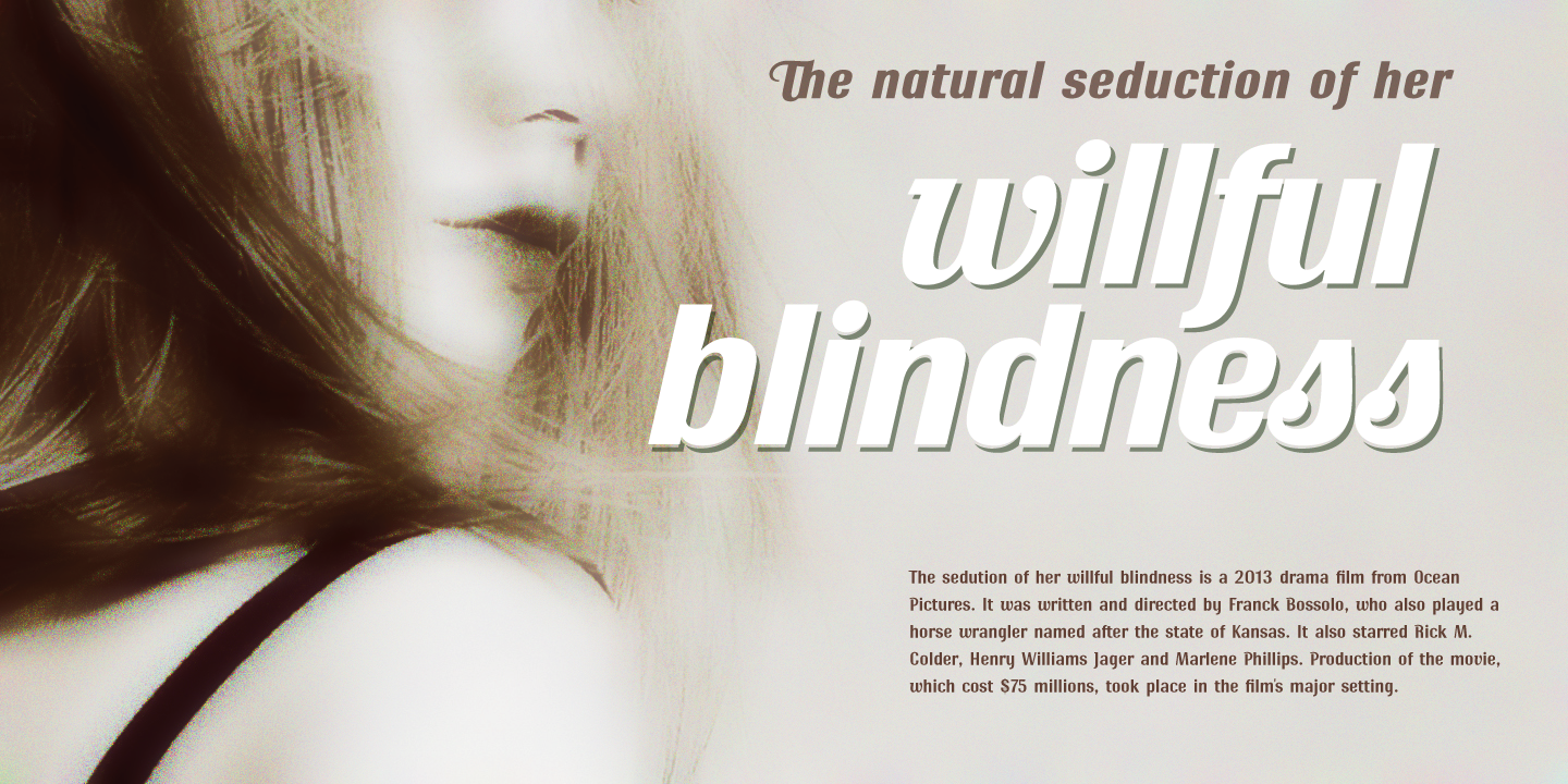 Ritts font family - 4