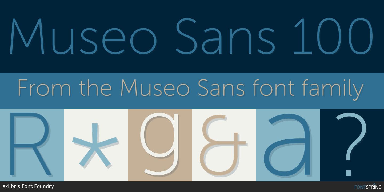 Museo Font.Fontspring Similar Fonts To Museo Sans