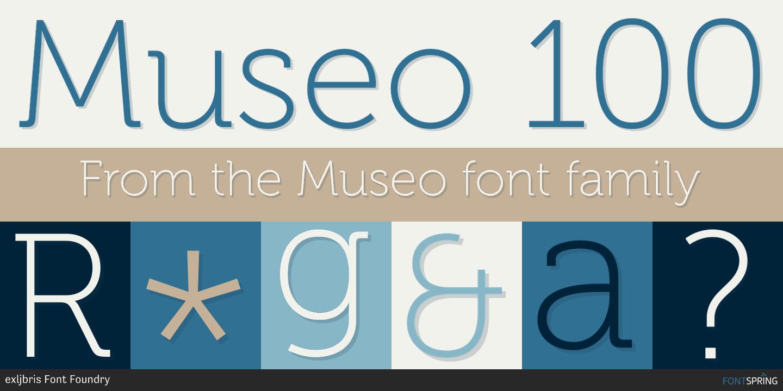 Museo Font.Fontspring Similar Fonts To Museo