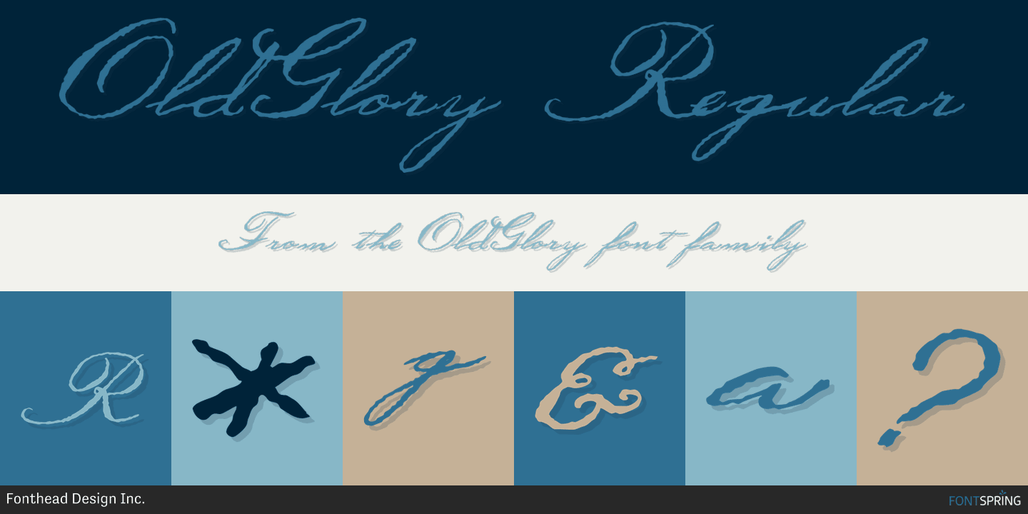 oldglory font by fonthead design inc 187 fontspring