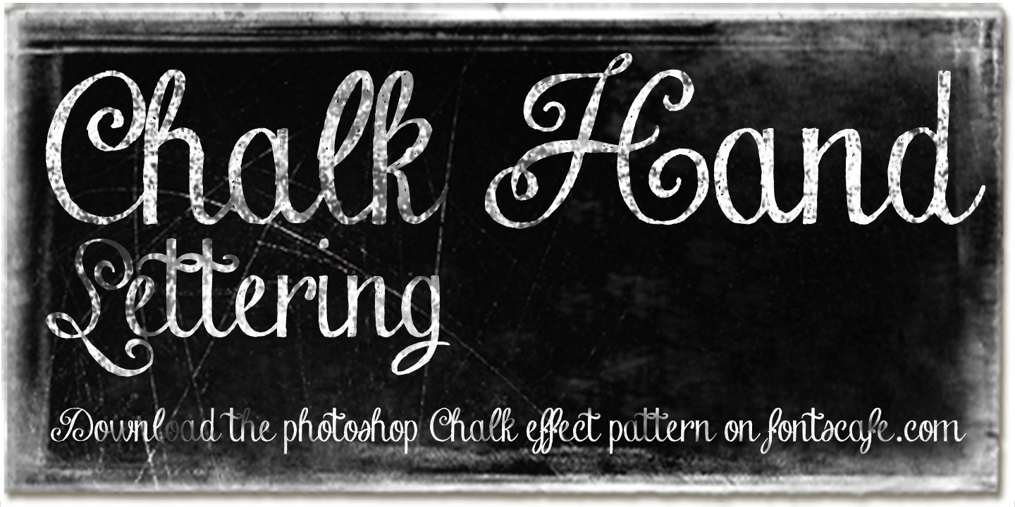 Fontspring | Chalk Hand Fonts by Fontscafe