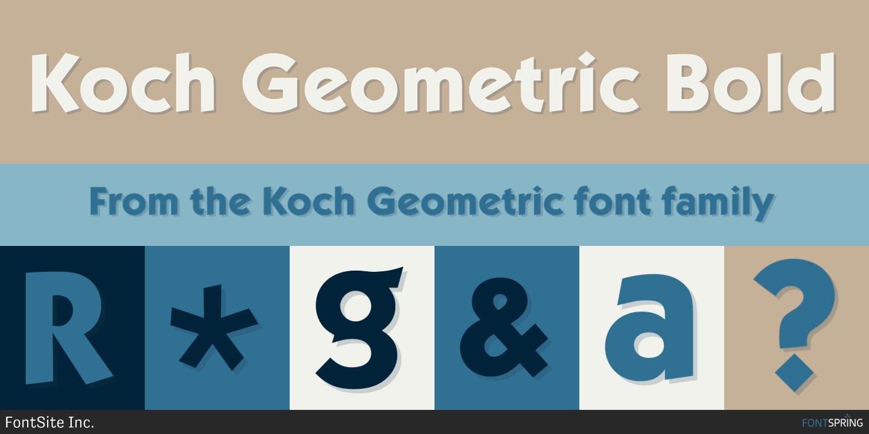 Free Geometric EU Bold Fonts