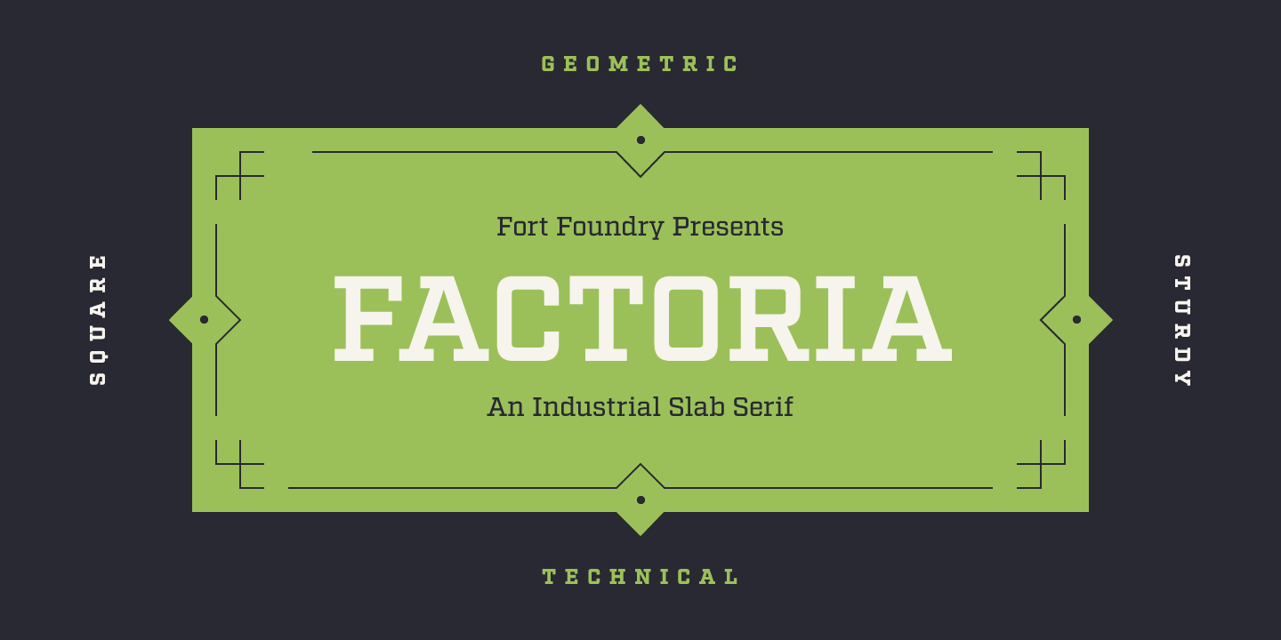 Fontspring | Factoria Fonts by Fort Foundry