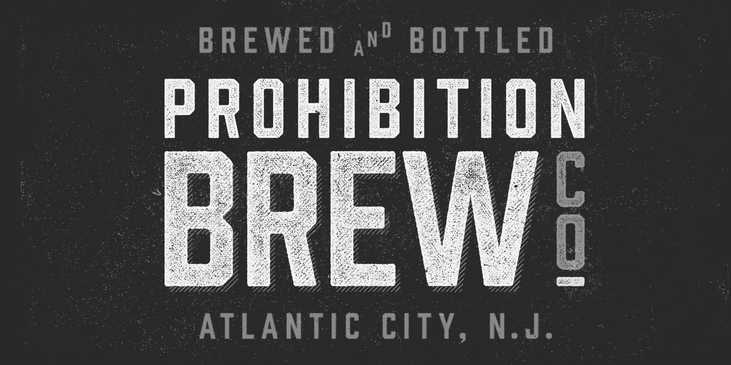 fontspring prohibition fonts by fort foundry