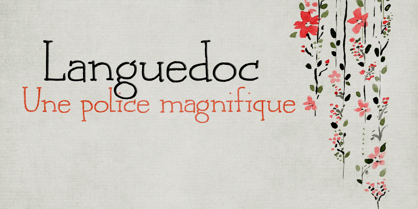 Languedoc font family