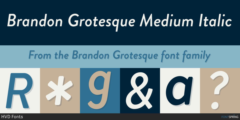 Top 10 Brandon Grotesque Alternatives for Typewolf