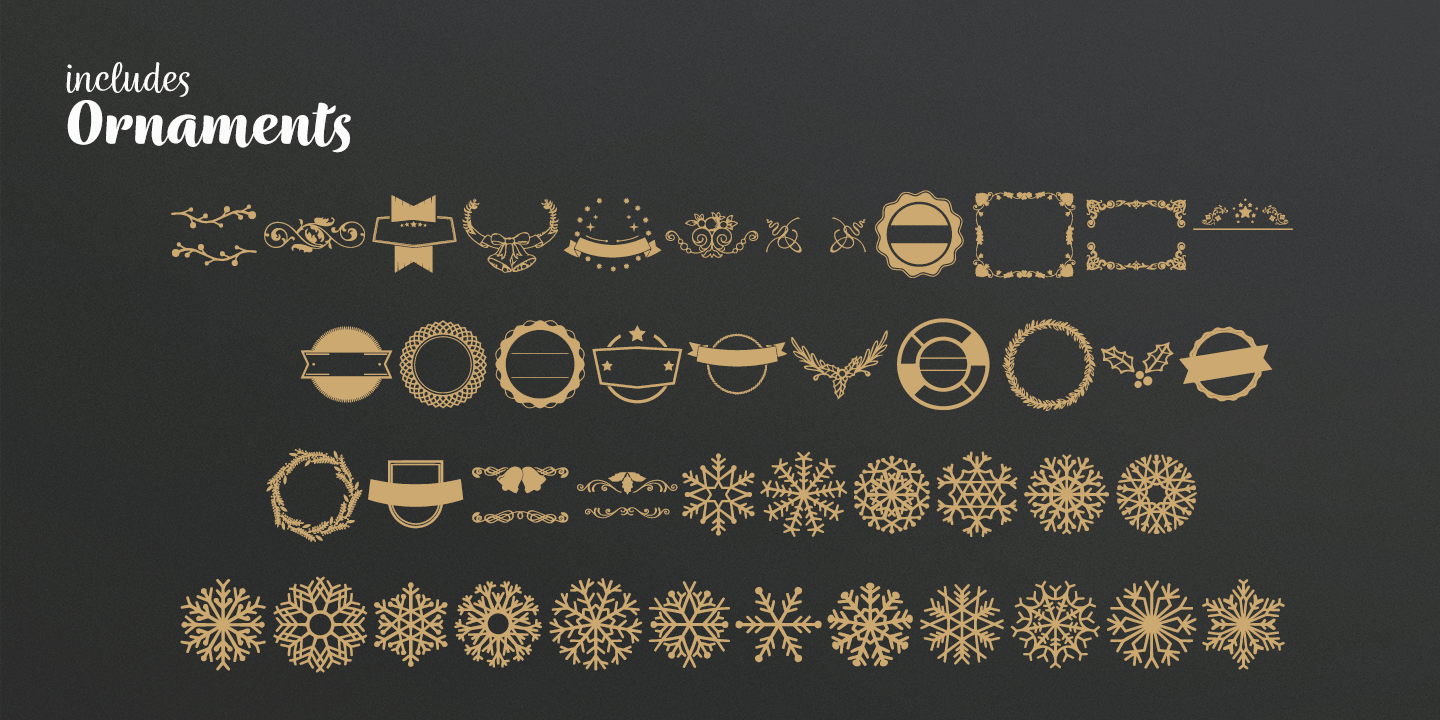 Wreath font family - 3