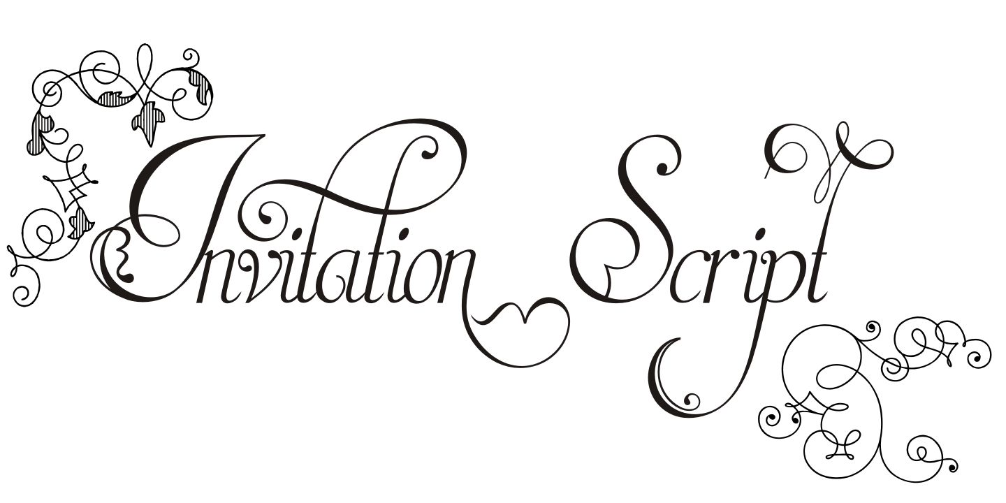 Fontspring invitation script fonts by intellecta design gallery stopboris Images