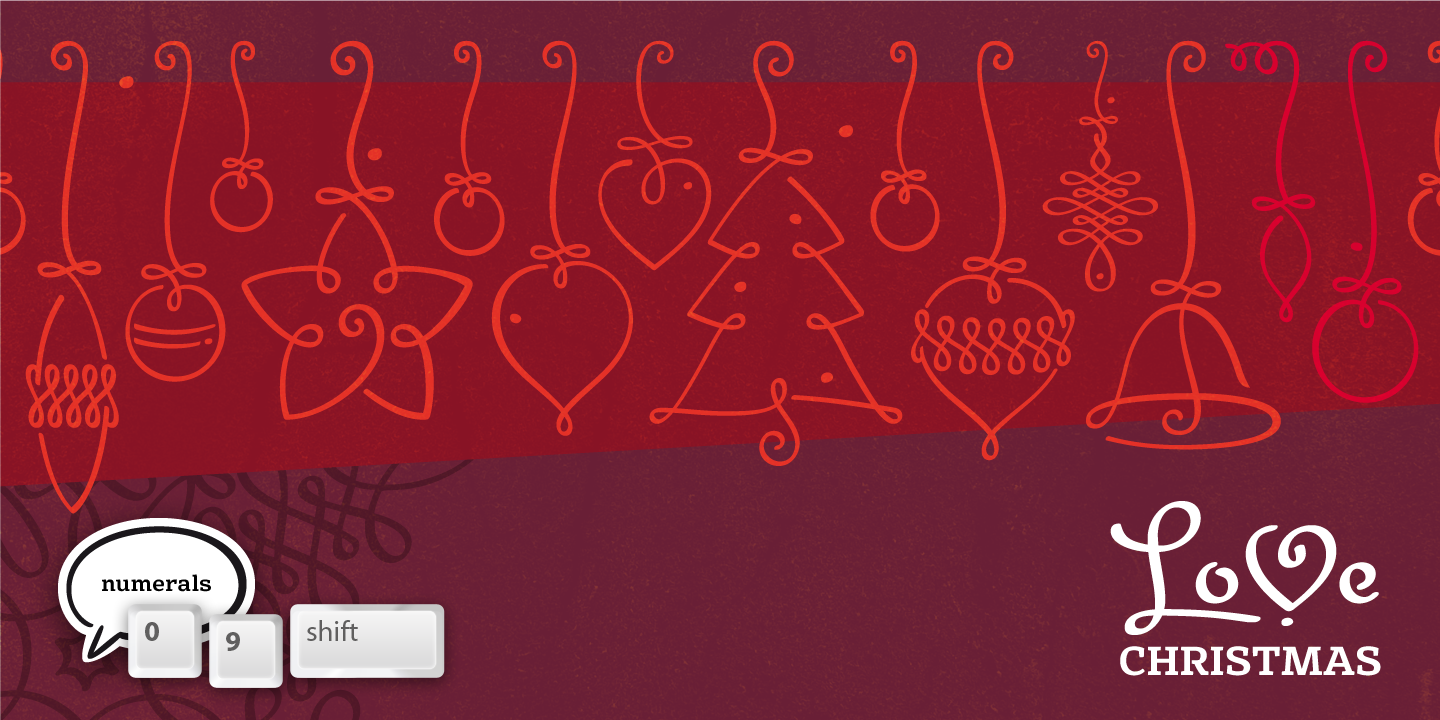 LoveChristmas font family - 4