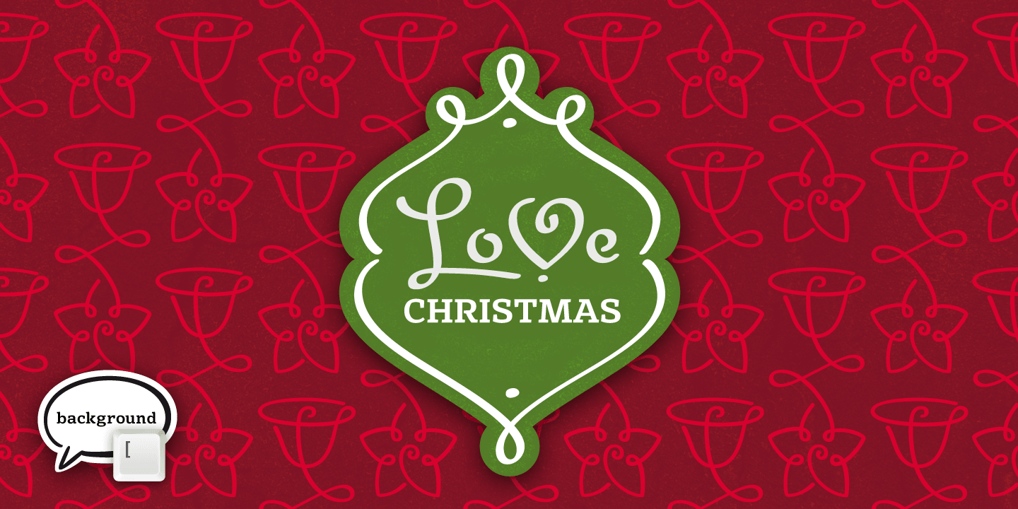 LoveChristmas font family