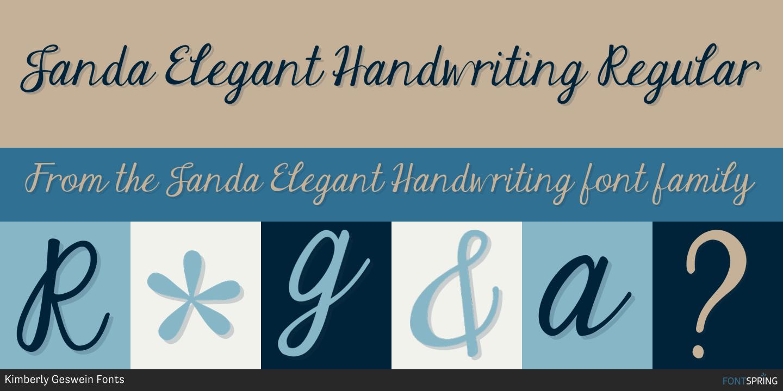 Similar Fonts To Janda Elegant Handwriting Fontspring