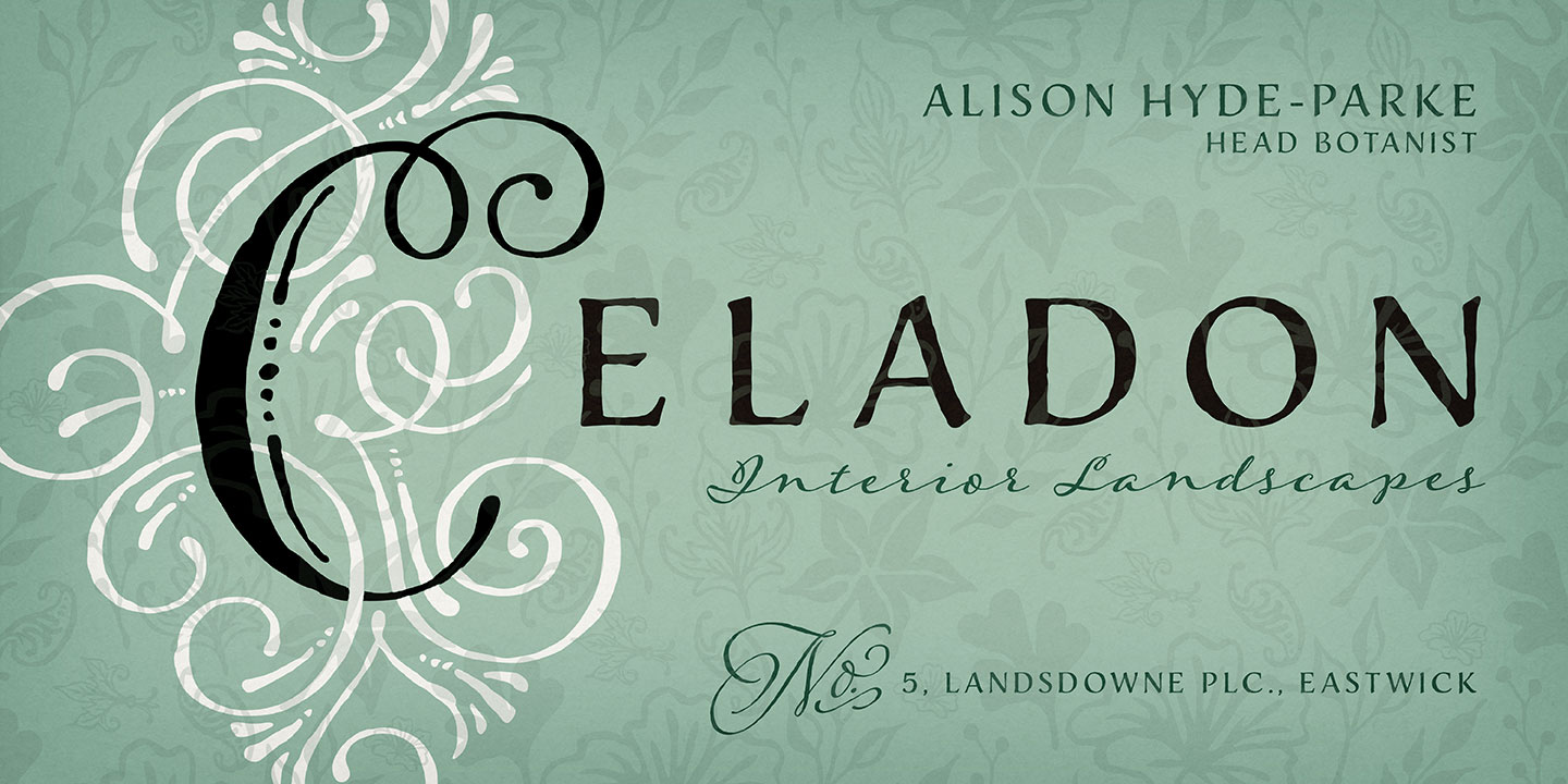 Fontspring | Adorn Collection Fonts by Laura Worthington