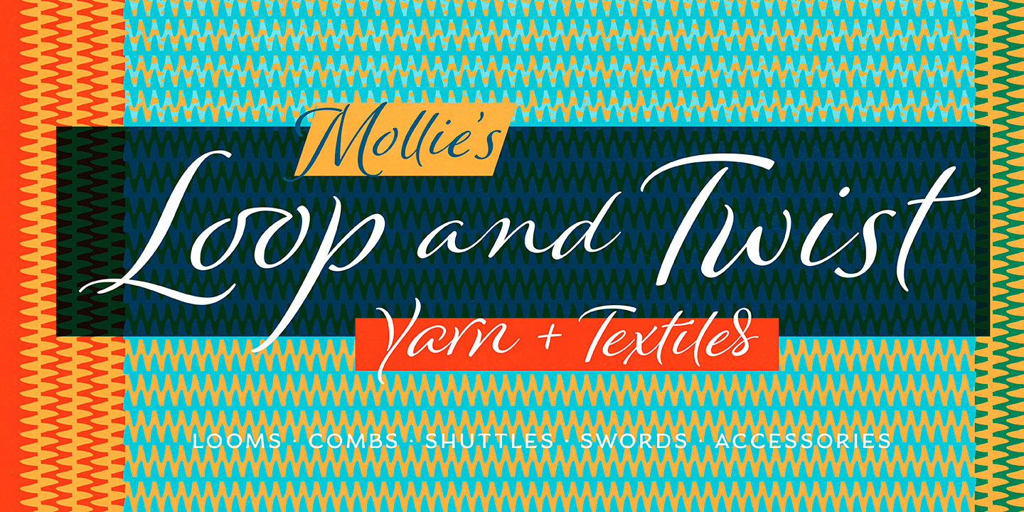 Winsome font family - 10