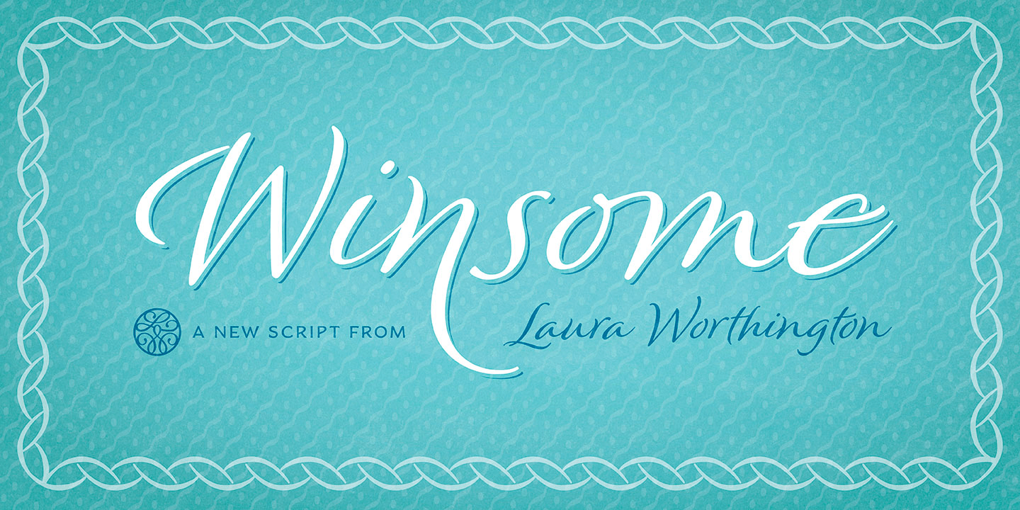 Winsome font family