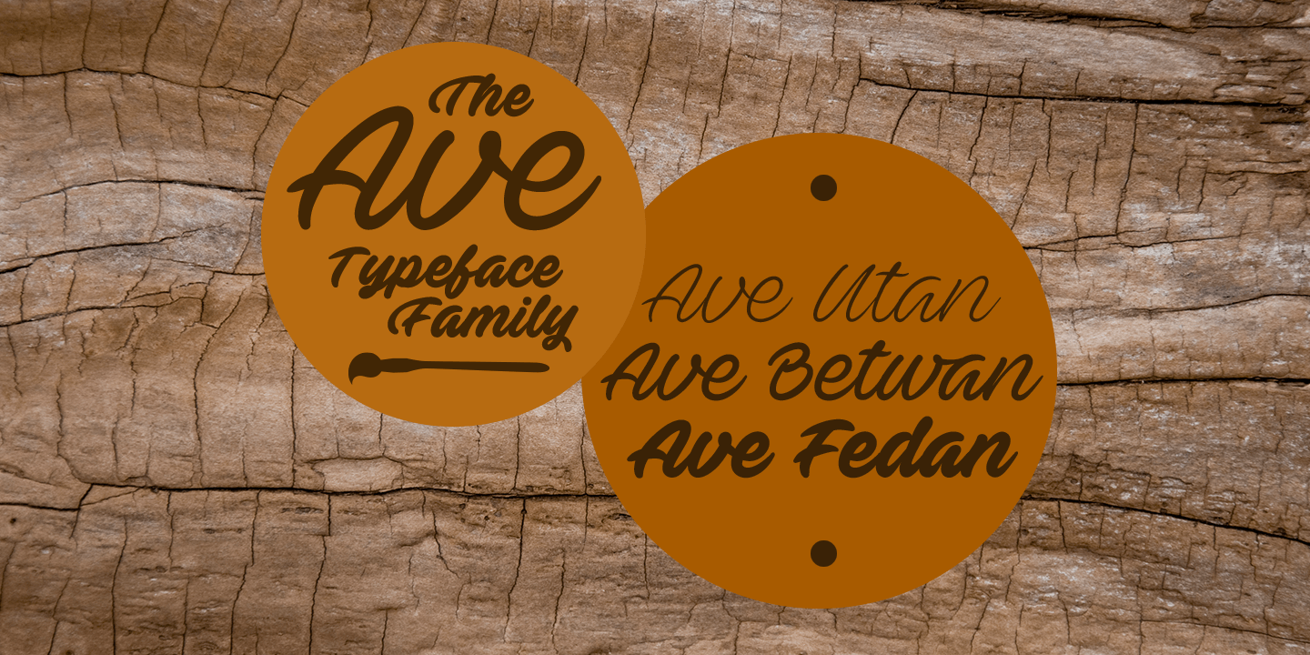 Ave font family