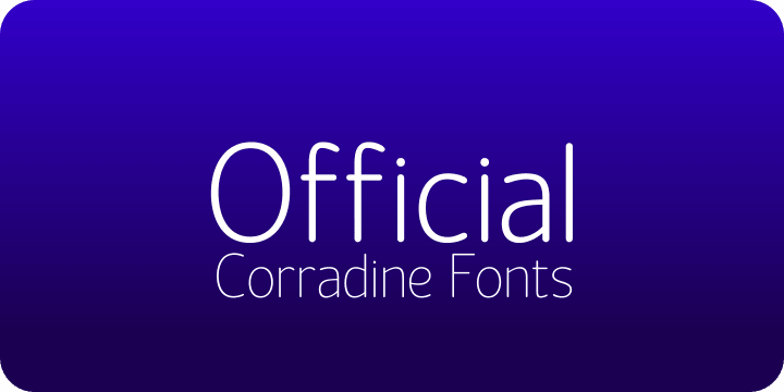 Official font family
