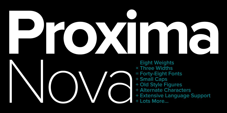Free Proxima Nova Font - Download Fonts