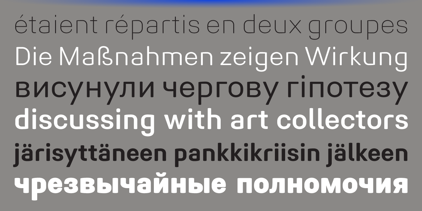 Midpoint Pro font family - 3