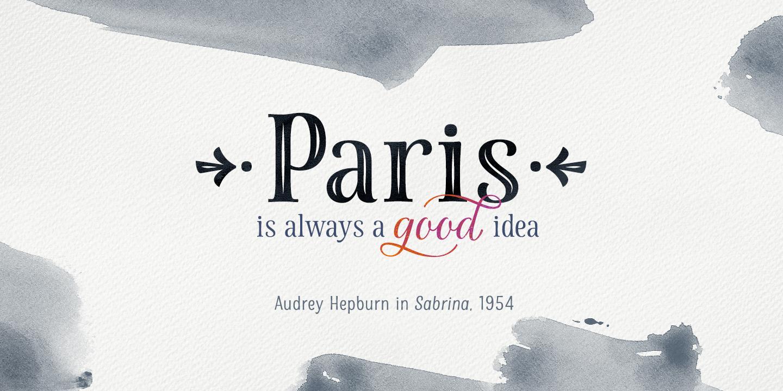 fontspring la parisienne fonts by my creative land. Black Bedroom Furniture Sets. Home Design Ideas