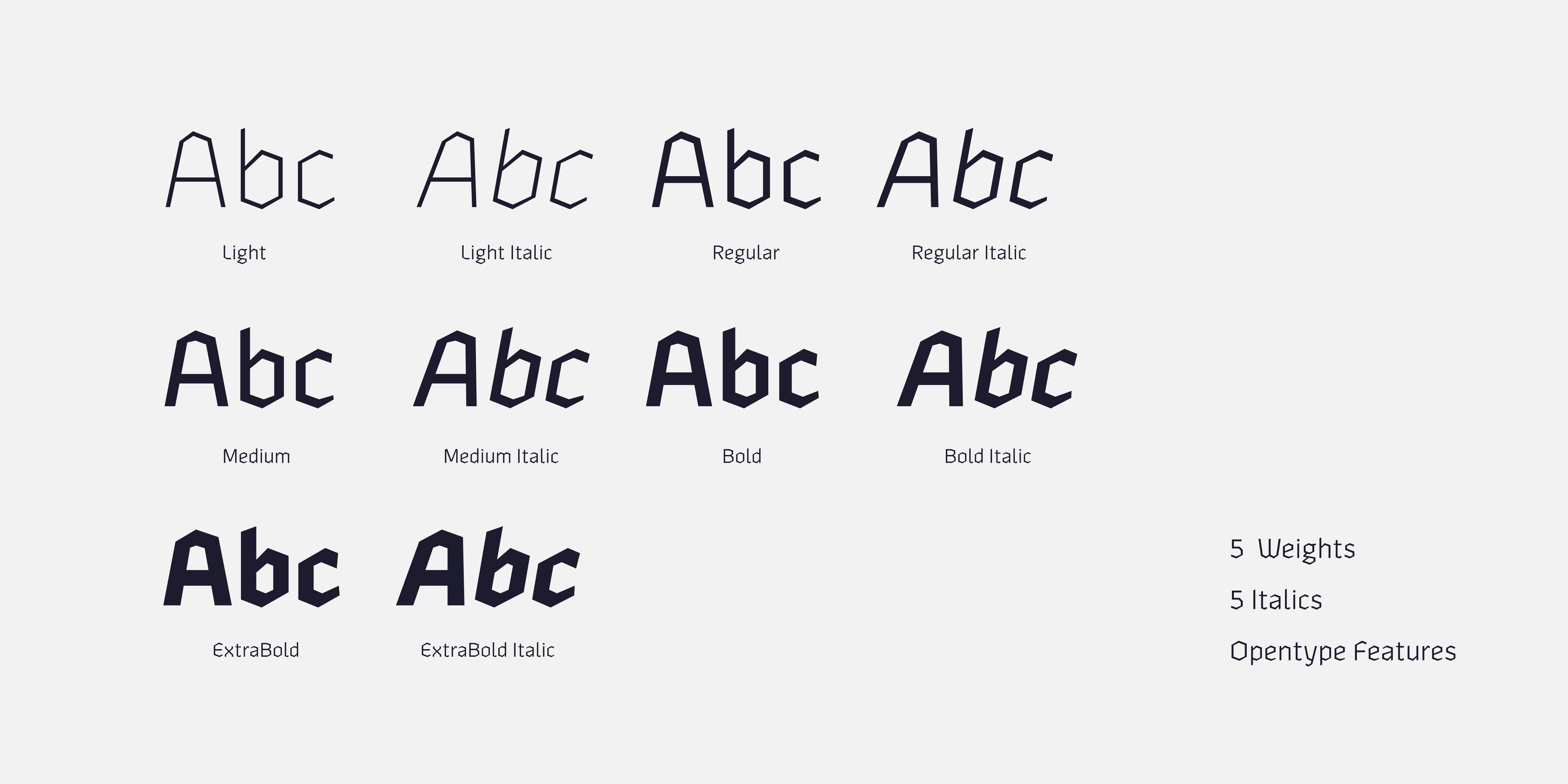 Fontspring   Zenga Fonts by The Northern Block