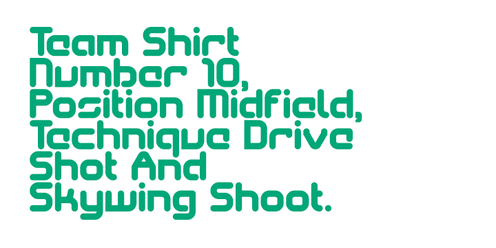 SkyWing font family - 5