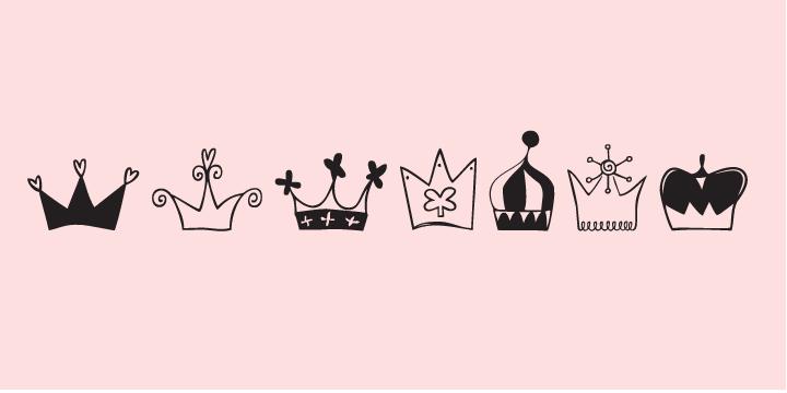 Crowns Font Fontspring