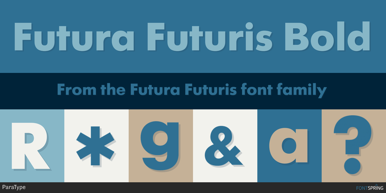 Fontspring | Futura Futuris Fonts by ParaType