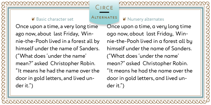 Fontspring | Circe Fonts by ParaType