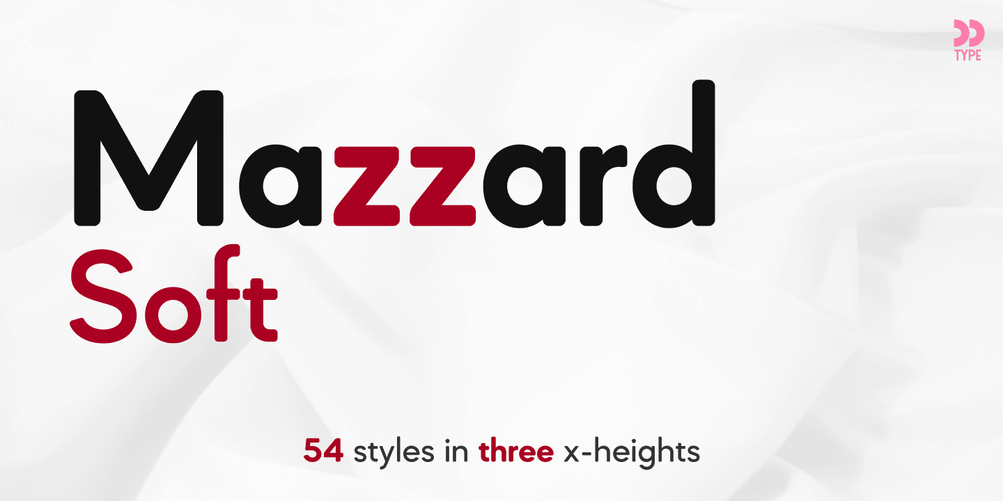 Mazzard Soft font collection - 1