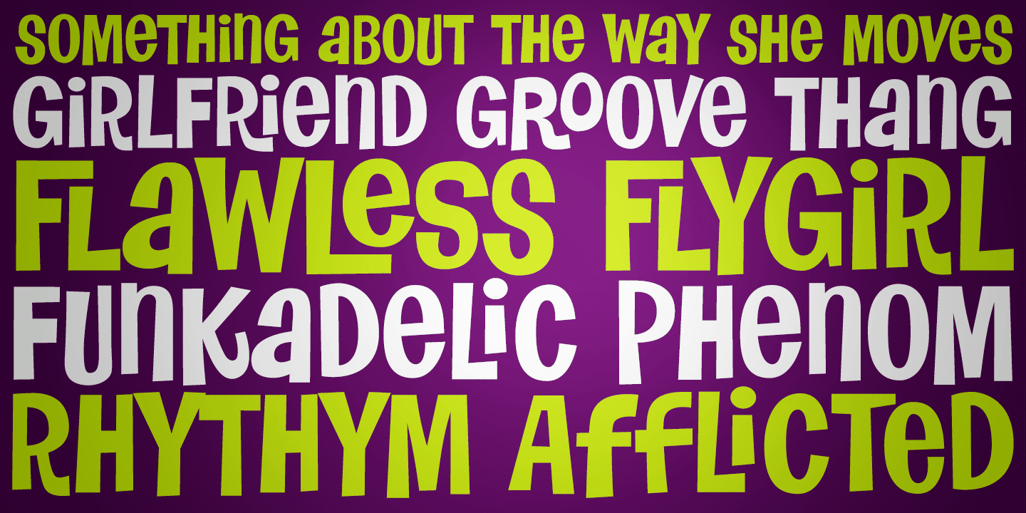 Flawless Flygirl PB font family
