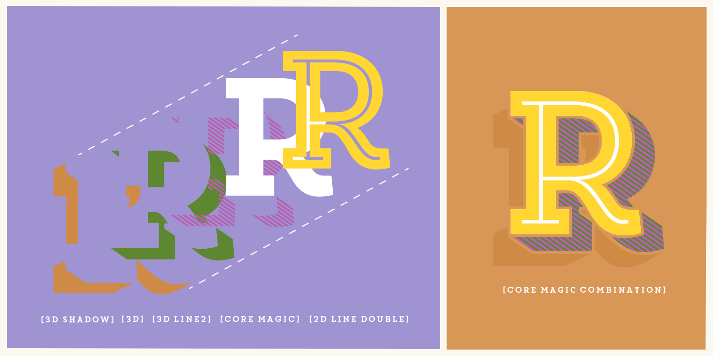 Fontspring   Core Magic Fonts by S-Core