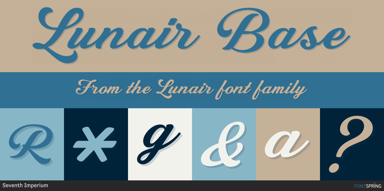 Fontspring | Similar Fonts To Lunair